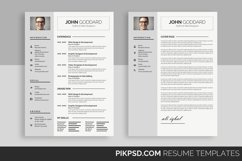 Clean Resume/CV Product Image 1