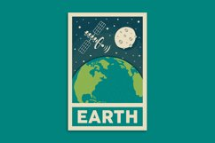 Retro Solar System Poster Product Image 6
