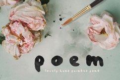 Poem Brush Font Product Image 1