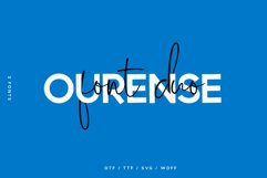 Ourense font duo Product Image 1