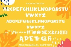 Web Font Cosmic - Fun Display Font Product Image 4
