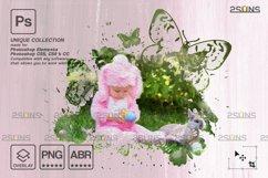 Easter Watercolor overlay & Photoshop overlay Product Image 2