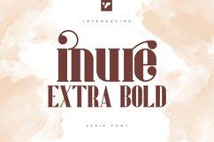 Inure - Serif Extra Bold Product Image 1