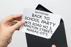 School Stryke - Handwritten font Product Image 3