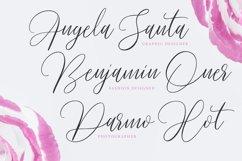 Pradita Script Font Product Image 2