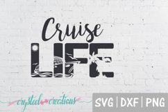 Cruise Life SVG, DXF, PNG Product Image 2