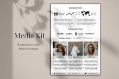 Influencer Media Kit Template, 3 Pages, Canva Product Image 4