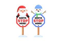 Santa Stop Here Product Image 1