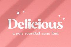 Delicious Sans Font Product Image 1