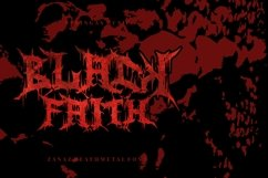 Zanaz - Deathmetal Font Product Image 3
