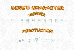 Bone Halloween Font Outline Product Image 6