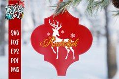 Reindeer Arabesque tile svg - Arabesque SVG - SVG Bundle Product Image 2