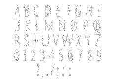 Line Flat font + line flat icon Product Image 6