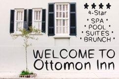 Ottomon Handwritten Brush Font Product Image 5