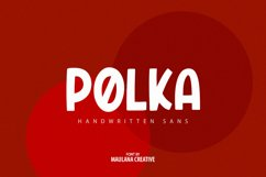Polers - Sans Serif Font Product Image 3