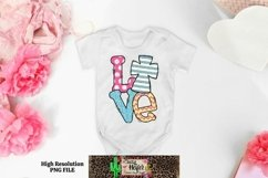 Easter Cross Love Dye Sublimation PNG Product Image 4