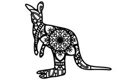 Wild Animal Mandala Bundle SVG Product Image 4