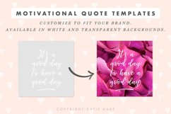50 Motivational Quote Templates for Social Media Product Image 3