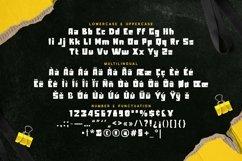 Web Font Gilligan - Bold Display Font Product Image 5