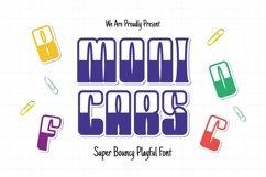 MONICARS Font Product Image 1
