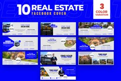 Real Estate 10 Facebook Cover Product Image 1