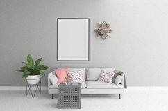 Vertical frame mockup - smart object Product Image 1