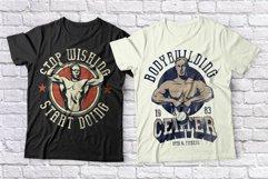 Bodybuilder Layered Font plus Bonus Product Image 6