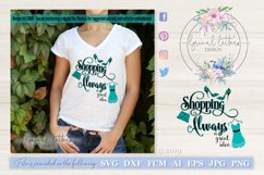 Shopping is Always a Great Idea SVG Cut File LL096F Product Image 1