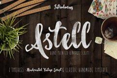 Astel Script Typeface  Product Image 1
