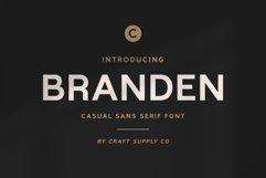 Branden - Casual Sans Serif Font Product Image 1