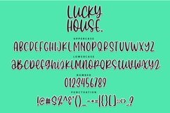 Lucky House - Quirky Handwritten Font Product Image 3