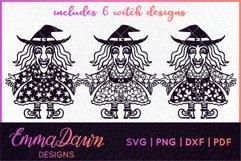 WENDY THE WITCH SVG MINI BUNDLE MANDALA ZENTANGLE DESIGN Product Image 2