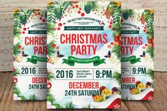 Merry Christmas Party Flyer Product Image 1