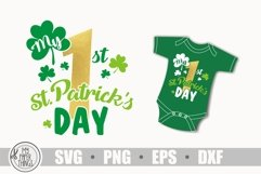 My 1st Patrick's day svg, Baby First Patrick's day svg Product Image 2