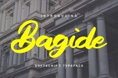Bagide | Softscript Typeface Product Image 1