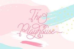 Plandscape smooth monoline font Product Image 3