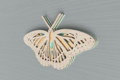 Insect laser cut file - Butterfly Mandala Product Image 6