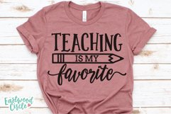 Teacher Shirt SVG Bundle - Back to School Cut Files Product Image 4