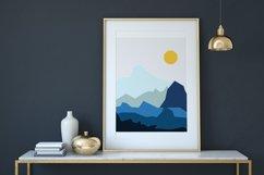 Set of illustrations, sea, girl, boat, lighthouse Product Image 3