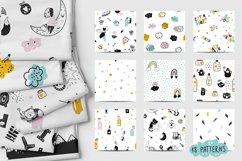 Nursery Scandinavian Art & Alphabet Big Bundle Product Image 4