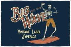 Big Wave Layered Font Product Image 3