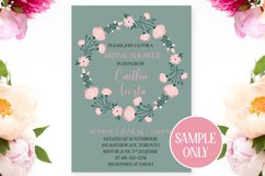 Floral Pink Peony Wreaths Illustration Bundle Product Image 4