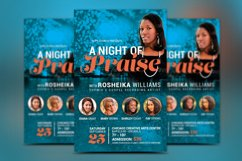 Worship Concert Church Flyer Template Product Image 2