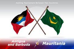 Antigua vs Mauritania Two Flags Product Image 1