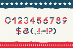 America otf color font Product Image 4