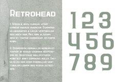 Retrohead Typeface | Font Product Image 3
