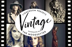 Vintage Lightroom presets Product Image 1