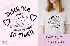 Valentines day svg, long distance relationship Product Image 1