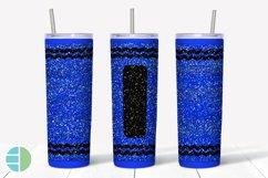 Skinny Tumbler Sublimation Design - Glitter Crayon Tumblers Product Image 2