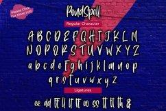 Pondspell Brush Font Product Image 5